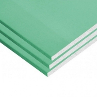 Гипсокартонный лист (ГКЛВ) Knauf  влагостойкий 3000х1200х12.5мм
