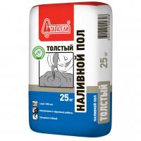 Наливной пол  Толстый Старатели 30-80 мм  25 кг