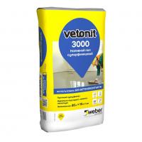 Наливной пол финишный Weber.Vetonit 3000 (Ветонит) 20 кг