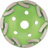 Чашка алмазная зачистная Двухрядная (125 мм; 22.2 мм) СИБРТЕХ 72955
