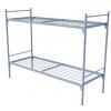 Кровать для рабочих металлическая двухъярусная 1870x700x1480 мм
