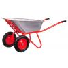 Тачка садово-строительная двухколесная 110 л (200 кг)