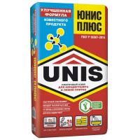 Клей для плитки Юнис Плюс, 25 кг