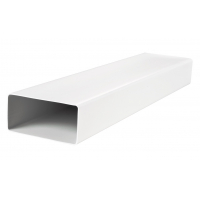 Короб вентиляционный пластиковый 55х110 мм, длина 1 м